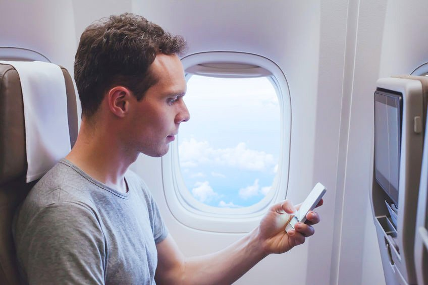 Ways to Reduce EMF Exposure While Flying in an Airplane
