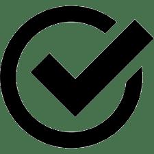 checkmark inside a circle