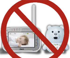 no wireless baby monitor with teddybear