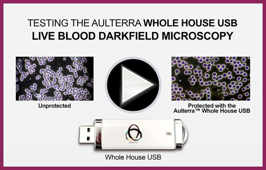 Aulterra Whole House USB blood comparison